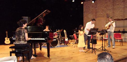 Les élèves de Polysons, école de musique à Carcassonne, en concert. Les ateliers, les groupes, les interclasses, les solistes !