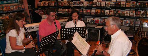 Cours de clarinette à Carcassonne chez l'école de musique Polysons. David Alfos vous accueille tout au long de l'année.