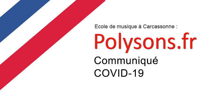 L'école de musique Polysons est provisoirement fermée.